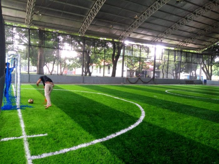 kontraktor lapangan futsal bekasi